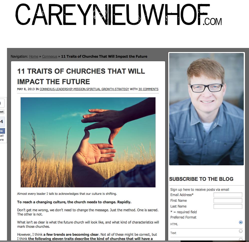 Carey Neuwhof.com